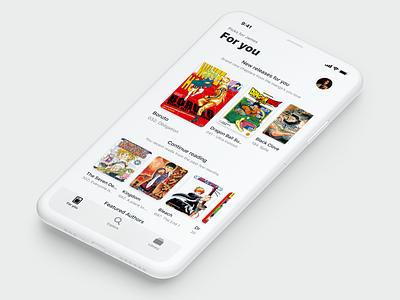 Manga Reader for iOS amazon kindle naruto dragon ball ios app library read manga