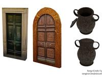 Roman Villa Objects