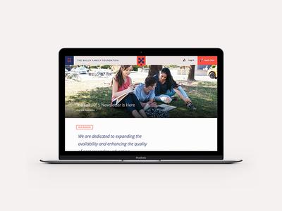 Nonprofit Website Redesign