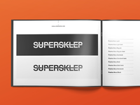 Supersklep logo book