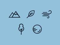 Ecosystem icons