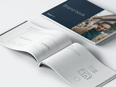 BrightPlan branding brightplan financial fintech branding brand minimalism clean minimal