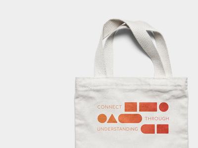 Continuon communication minimalism tote brand building brand design design mockup concept branding brand development