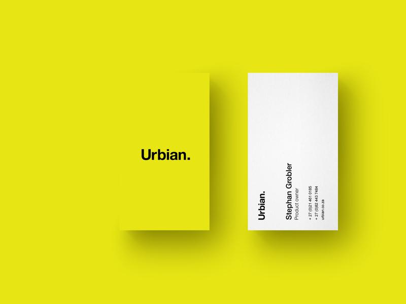 Business concept minimal lumo business card business bright brand design branding brand