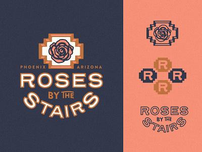 Branding beer branding beer stairs roses brewery branding branding and identity branding design brewery logo brewery logo branding