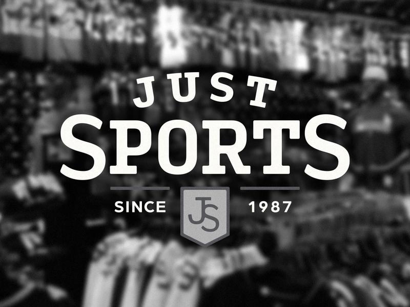 Just Sports baseball hat sports retailer sports branding sports logo retail store retailer retail sportswear sports hockey soccer baseball basketball football