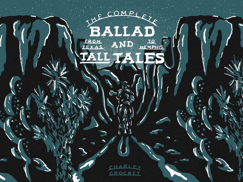 The Ballad & Tall Tales: Charley Crockett horse cowboys cowboy hat horseback western cowboy valley music art album art cd cover handdrawn fresco playlist cover mix cover mix playlist charley crockett