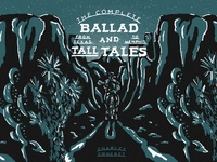The Ballad & Tall Tales: Charley Crockett horse cowboys cowboy hat horseback western cowboy valley music art album art cd cover handdrawn fresco playlist cover mix cover mix playlist charley crockett