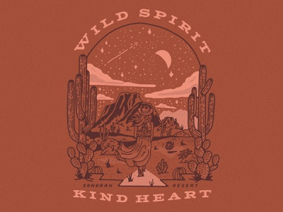 Sonoran Cowgirl landscape prickly pear saguaro desert night cowgirl desert sonoran desert