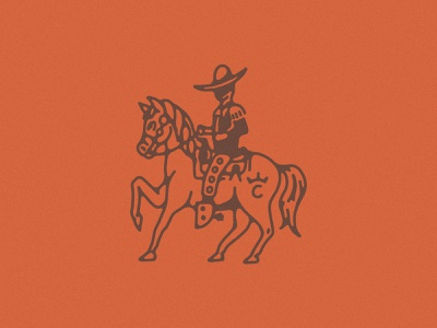 Rancho de los Caballeros Refresh before and after cowboy hat western refresh rebrand horse caballero cowboy ranch rancho