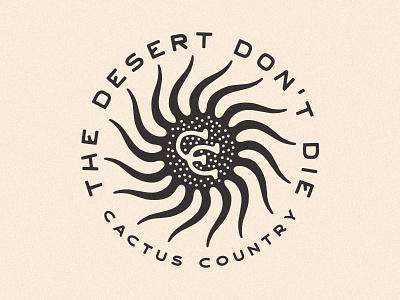 CC Desert Sun cactus cactus country desert summer hot melty sun desert sun sun