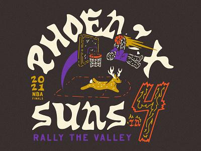 Suns in 4 rally the valley valley nba finals basketball nba suns phoenix phoenix suns