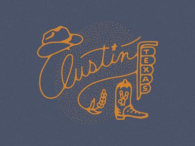 Austin Bound cowgirl cowboy neon sign star script austin texas blue bonnet texas blue bonnet cowgirl boot cowgirl hat cowboy hat cowboy boot western austin texas