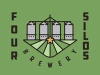 Four Silos Logo Option