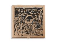 Fire & Brimstone Pizza Box