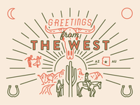 Greetings from the West