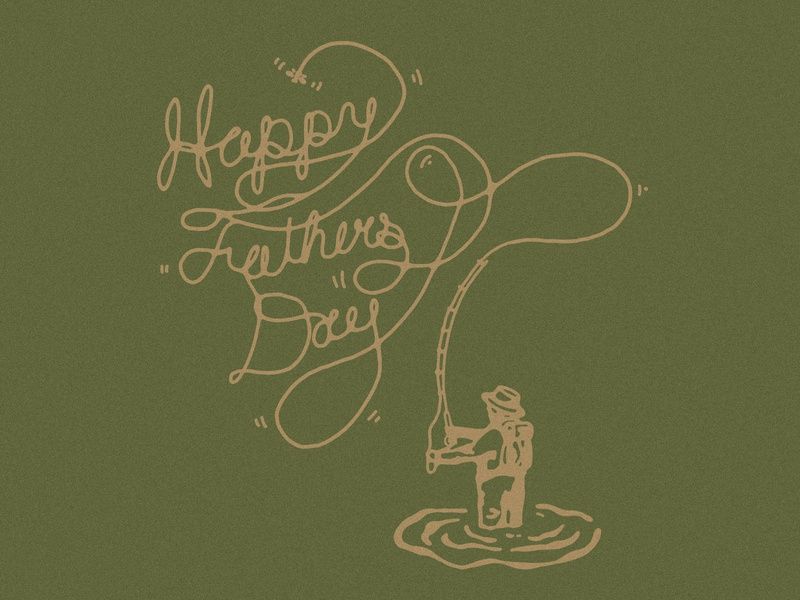 Fly Dad fly fishing fishing angler angler dad fish dad fly dad rad dad dad letterpress fathers day card fathers day