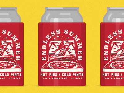 Hot Pies & Cold Pints Koozy