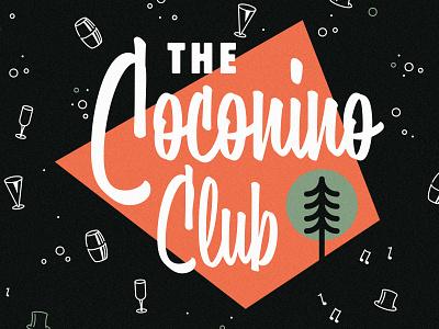 Coconino Club bar logo drinks restaurant logo club logo logodesign identity branding logo coconino club