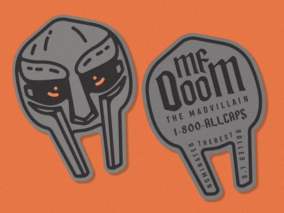 MF DOOM Business Cards