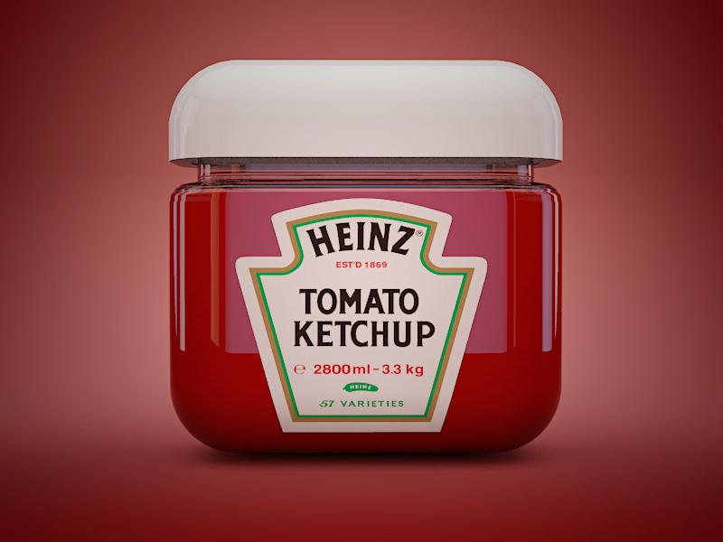 Embiggen ketchup