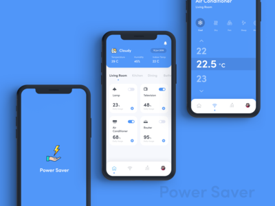 Power Saver UI Design
