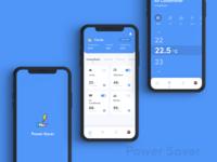 Power Saver UI Design