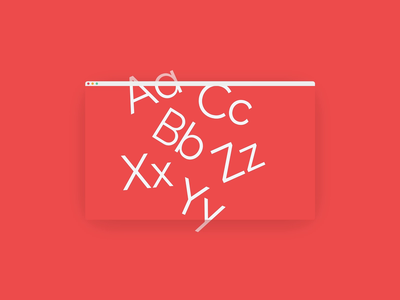 Variable Typeface Animation — Avant Sans typography css typeface design sans serif animated type variable font variable typeface