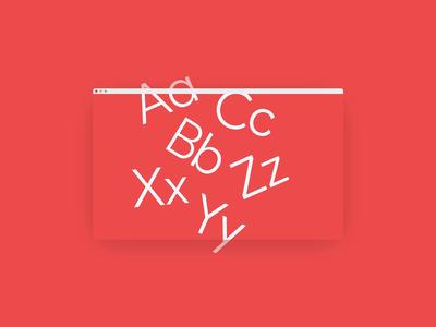 Variable Typeface Animation — Avant Sans