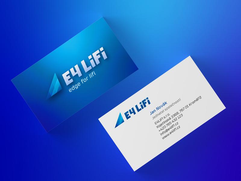 E4LIFI - business cards corporate design design logo business cards businesscard business
