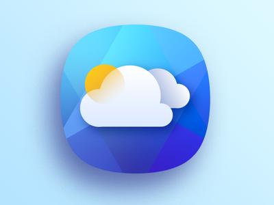 Cloudy icon ux ui design app design app illustrator vector icon