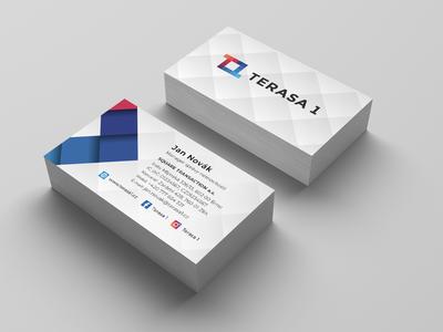 Terasa 1   - Business Card Design