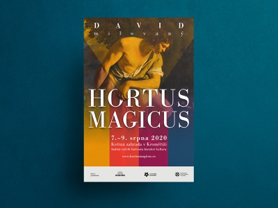HORTUS MAGICUS poster II indesign branding design poster art display outdoor print poster