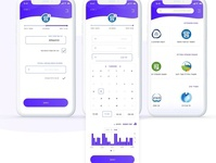 MyVisit Redesign project - Scheduling appointment app redesign branding uiux mobile app appointment schedule