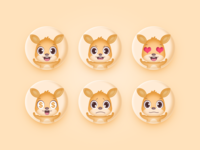 A set of Emoji