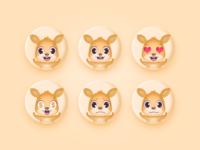 A set of Emoji