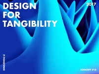 Design For Tangibility