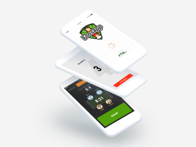"UI Design of ""Foosapp"" app"