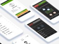 UI design of Foosapp from Nextap