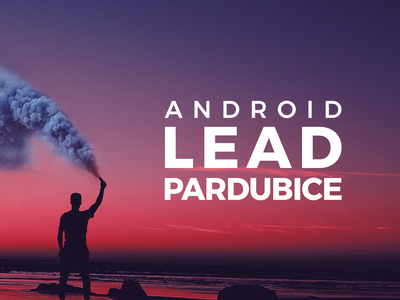 Proposal for Android Lead HR campaign advertisement commercial poster movie dailyui typography design nextap behance campaing person case stuy web design web smoke bomb smoking smoke photography photo image