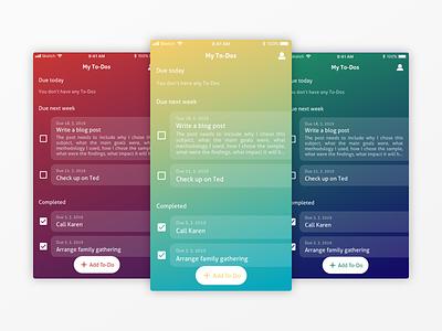 ToDo App clean minimal todo todo app design design app nextap ios ux ui attractive simple mobile app mobile