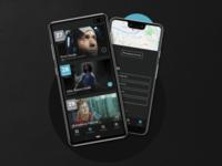 Open Air Cinema App - UI Design - Part 3