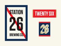 Station26 Logo Ideas 4