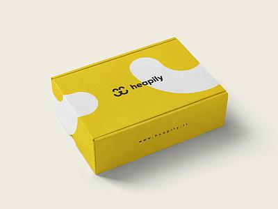 Heapily graphic design logo branding design package package design