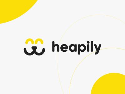 Heapily branding design branding logodesign logo logotype brand