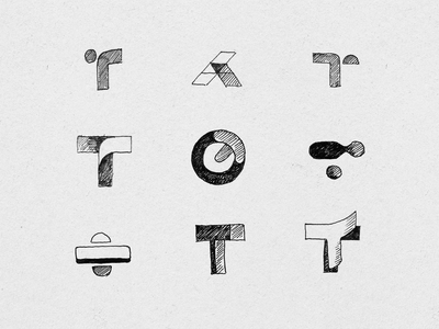 T logomark sketches brand logodesign design logotype graphic design sketches sketch exploration logomark logo design branding