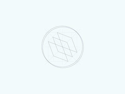 Logo construction for Finleg vector logodesign brand logo branding graphic design logo design design sketch construction construction logo logomark logotype