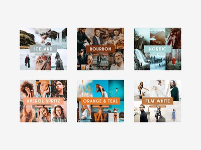 QuickPresets cover design photography design graphic design