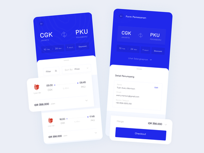 Daily UI 002 - Checkout trending uiuxdesign ui design mobile ui booking flight app travel app app booking app flight booking clean mobile app ux ui