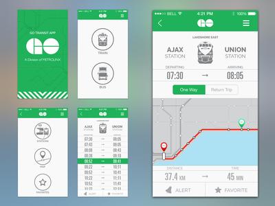 GO Transit UI Revised